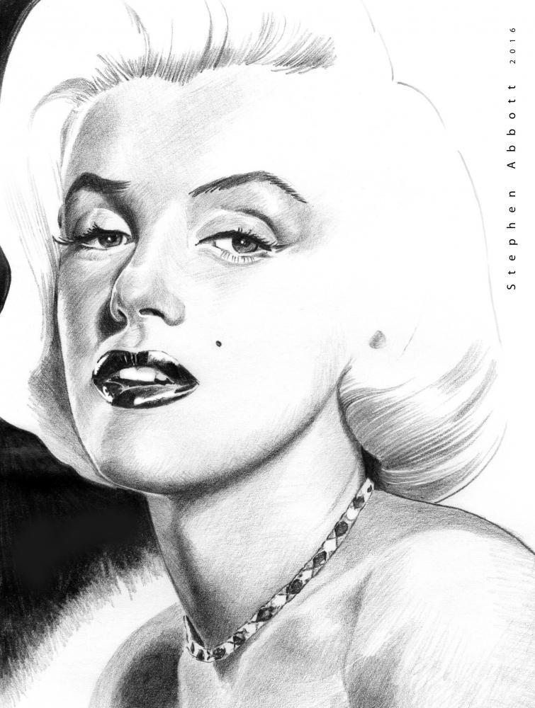 Marilyn Monroe by StephenAbbott